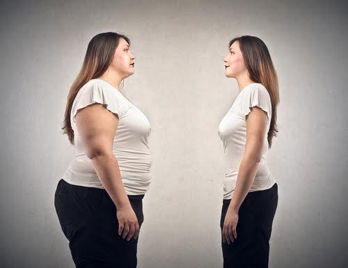 Фото похудевшей девушки
