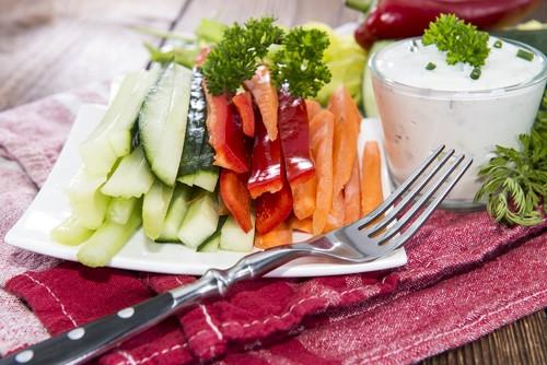 Свежая диетическая еда