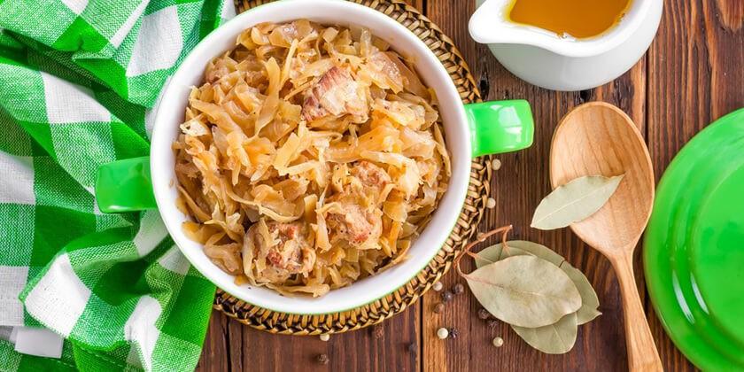 Рецепт блюда из капусты