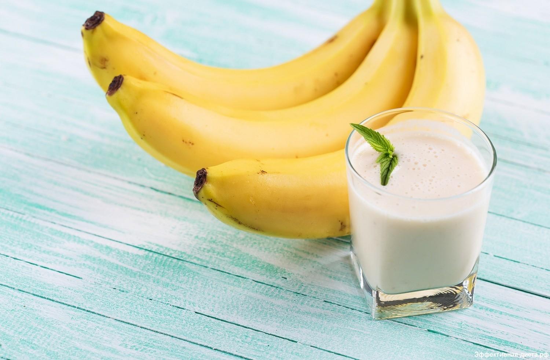 Банановая диета с молоком