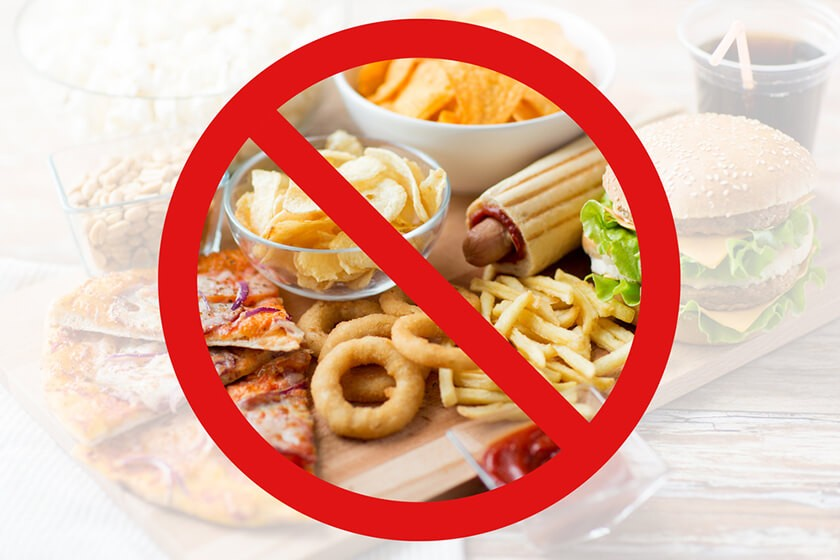 Нежелательные продукты для детей при ожирении